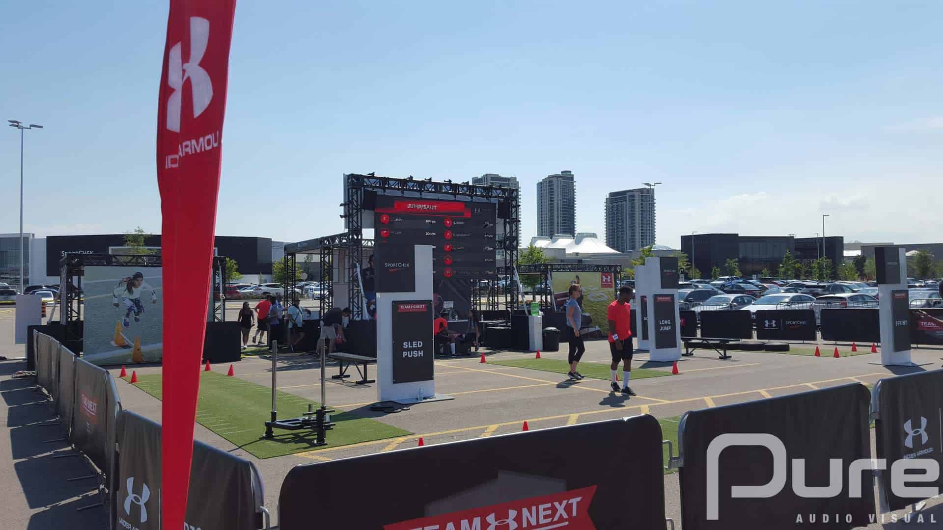 Outdoor LED Video Wall, LED Wall, LED Screen, Truss, Line Array, Outdoor LED Panels