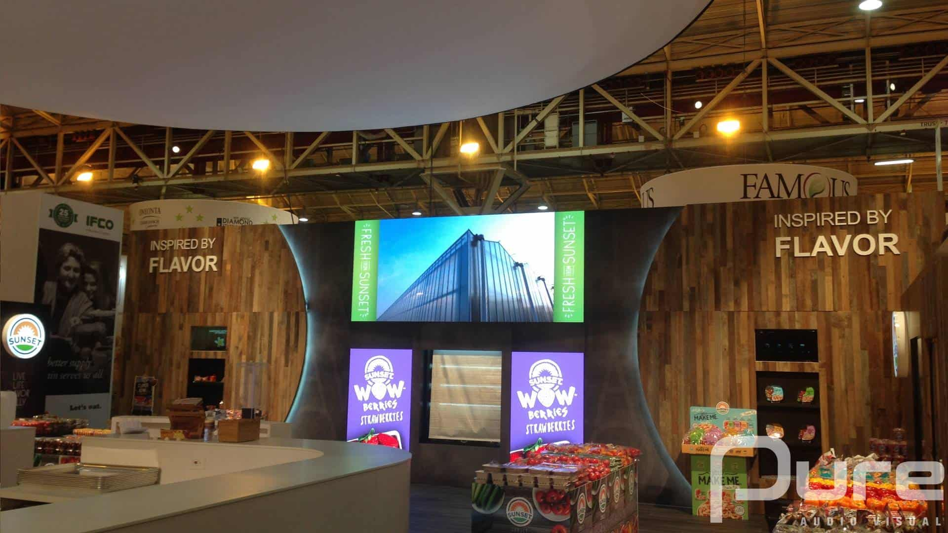 LED Panels, LED Video Wall, LED Screen, LED wall, Tradeshow, 4mm LED Panels