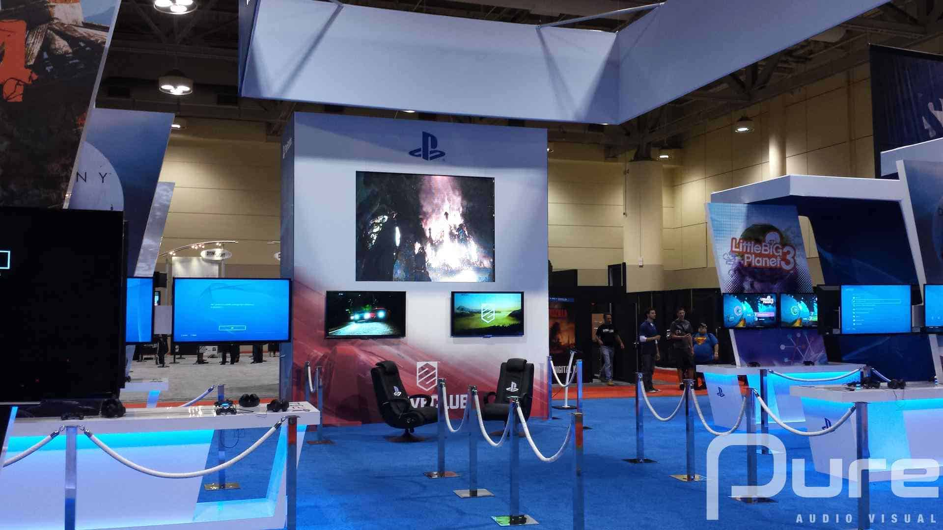 "TV Screens, Tradeshow, LED Video Wall, LED TV Screens, 46"" TV Screens, 60"" TV Screens"