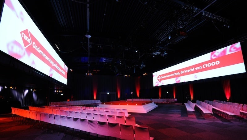 Custom Projection Screen Rental