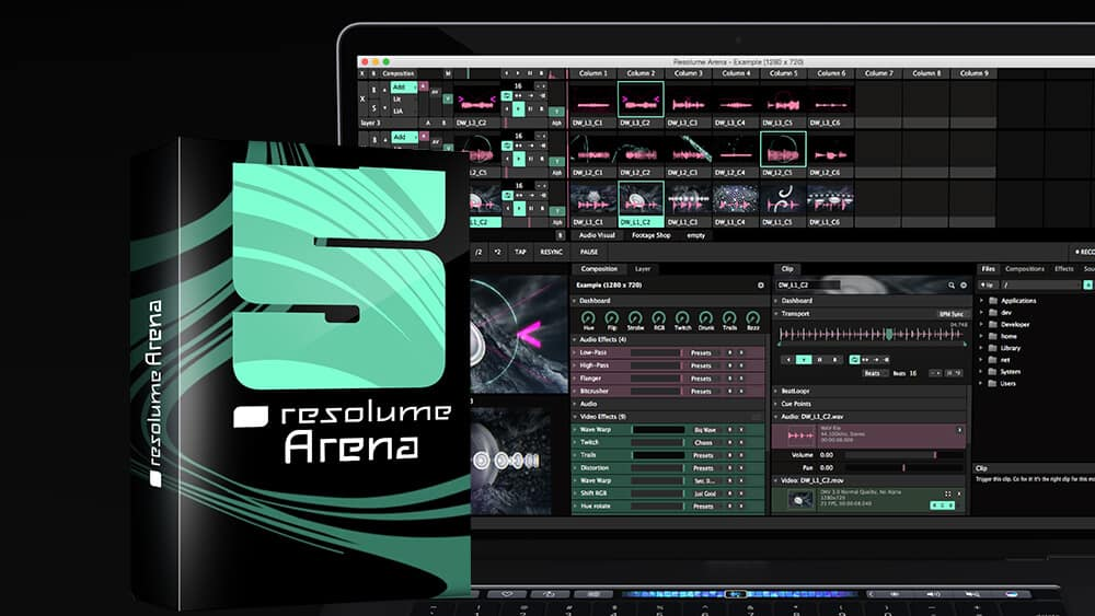 Resolume Arena 6 - Pure AV