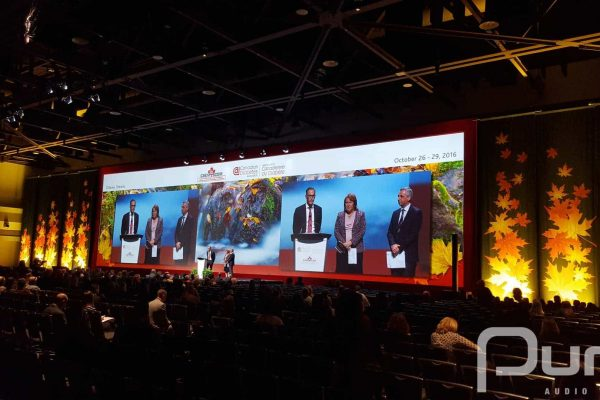 Conference, Projection Blending, Lighting, AV Production, Audio Visual, AV Company