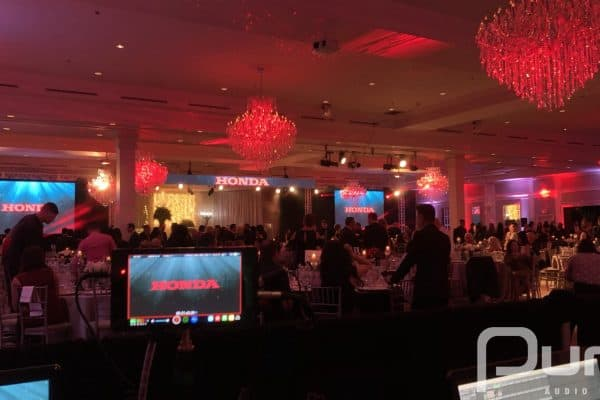Corporate Event for Honda Canada.