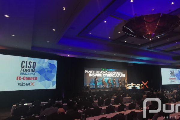 SiberX, Conference, Toronto, AV, Audio Visual, AV Company, Screens, LED Video Wall,