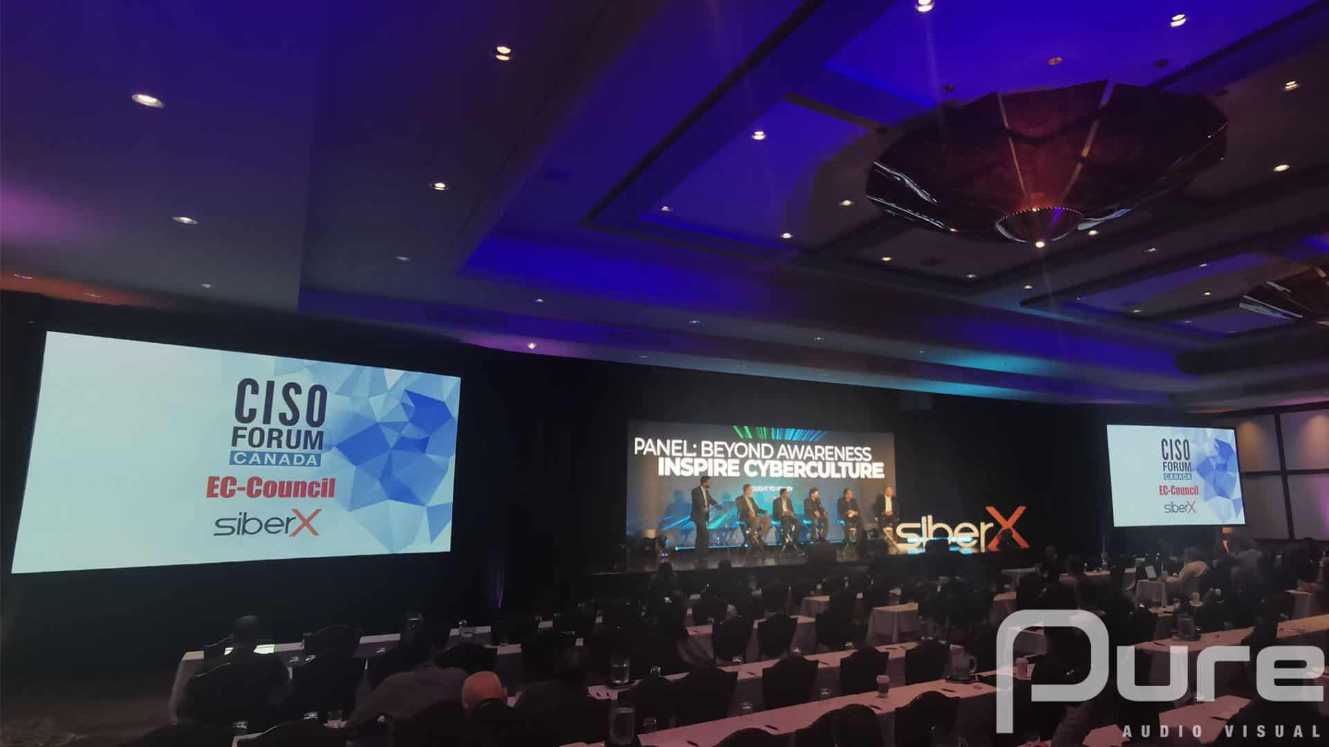 SiberX, Conference, Toronto, AV, Audio Visual, AV Company, Screens, LED Video Wall,