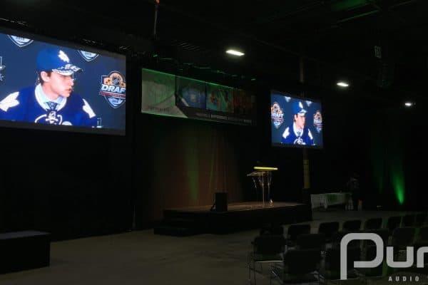 Presentation, Product Launch, AV, Audio Visual, LED Video Walls, LED Panels, Stage