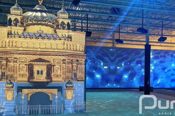 Projection Mapping, Toronto, Interactive, Laser Projectors, Golden Temple