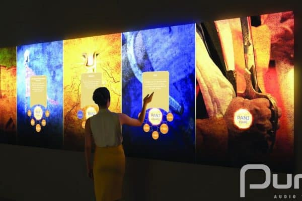 Toronto, Projection Mapping, Interactive, Interactive Projection Mapping, Touchscreen, AV, Audio Visual