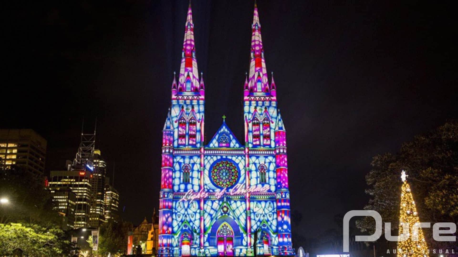 audio visual projection mapping services