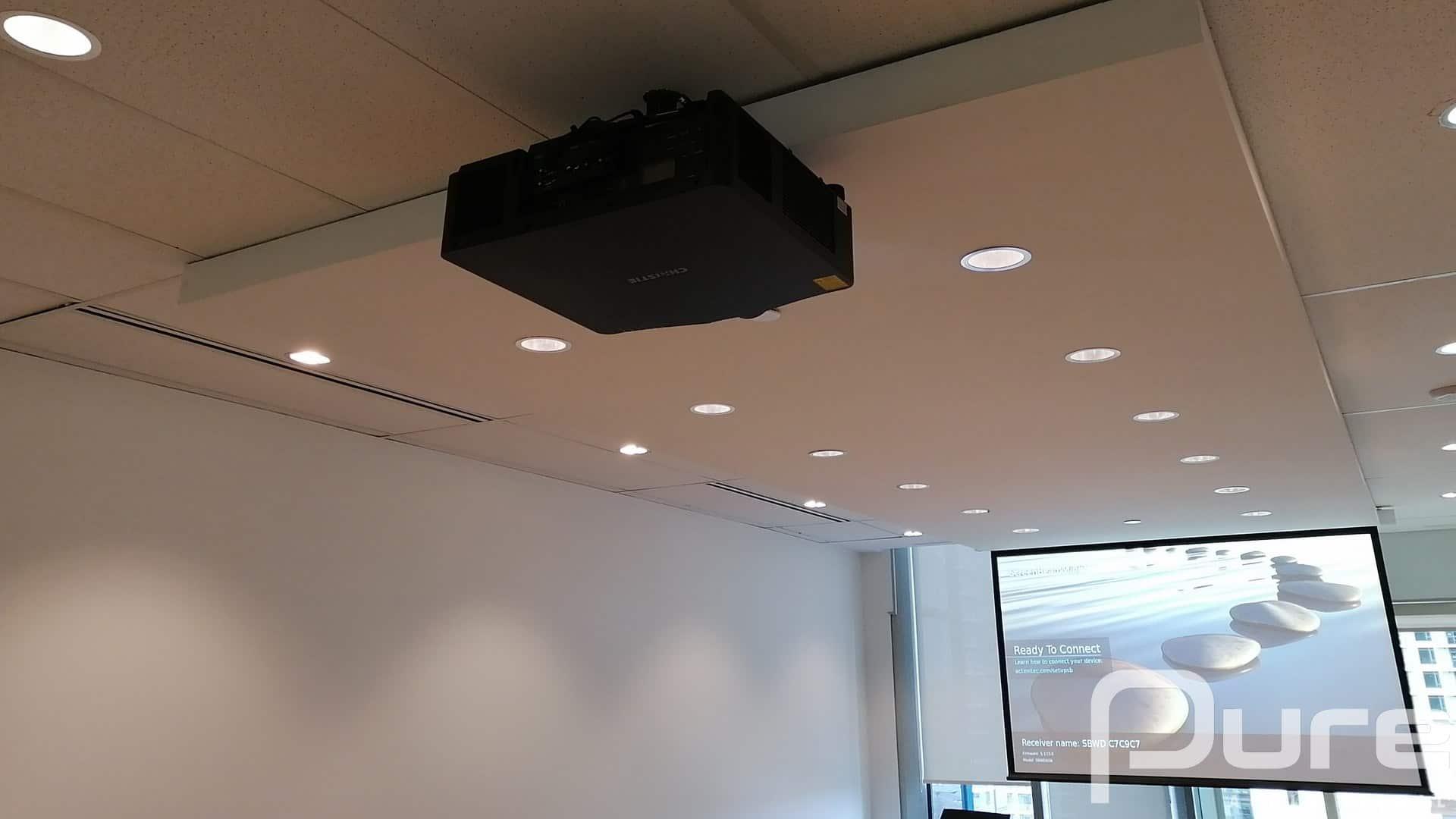 4K Laser Projector install