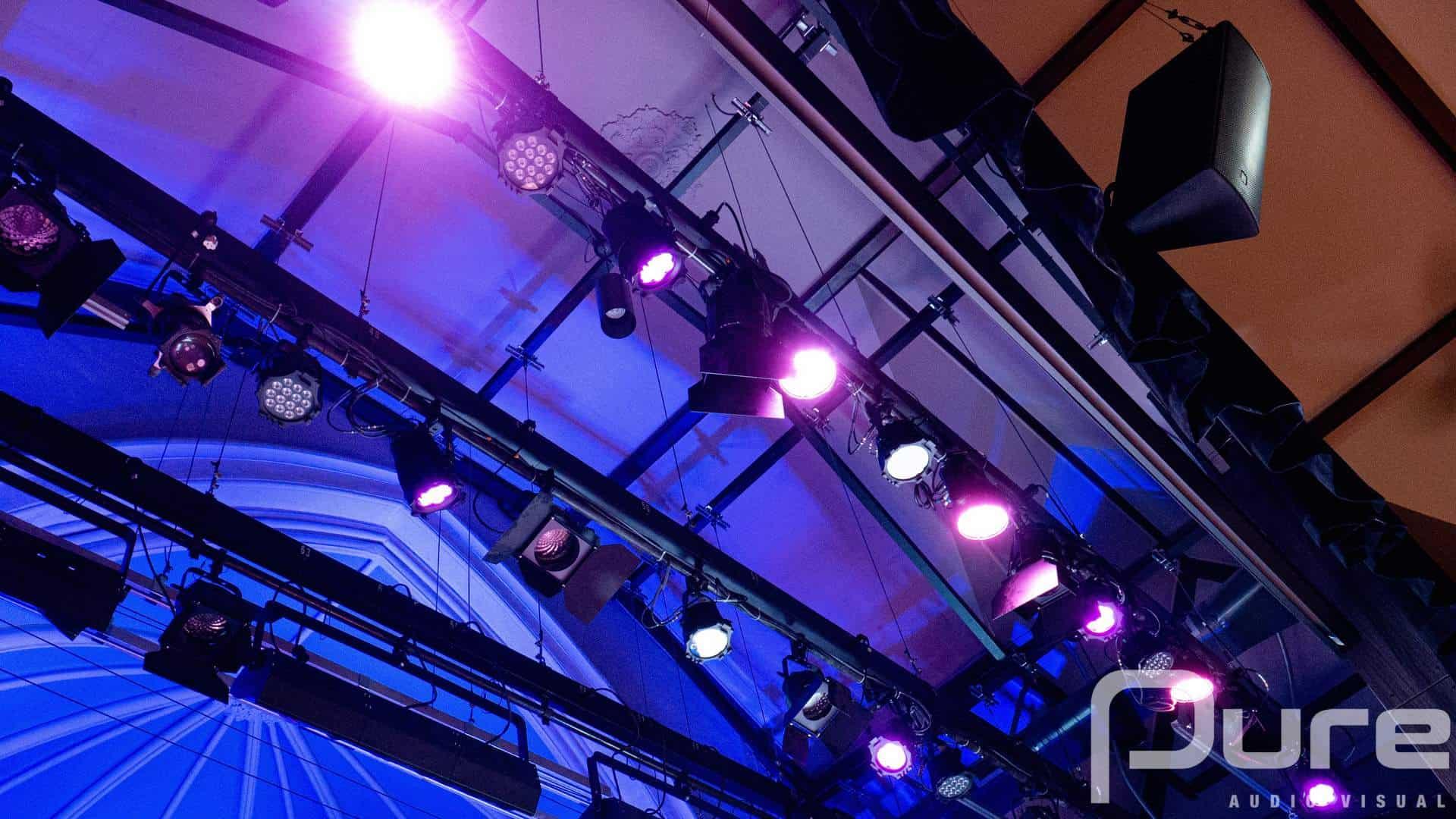 Lighting Rig Installation