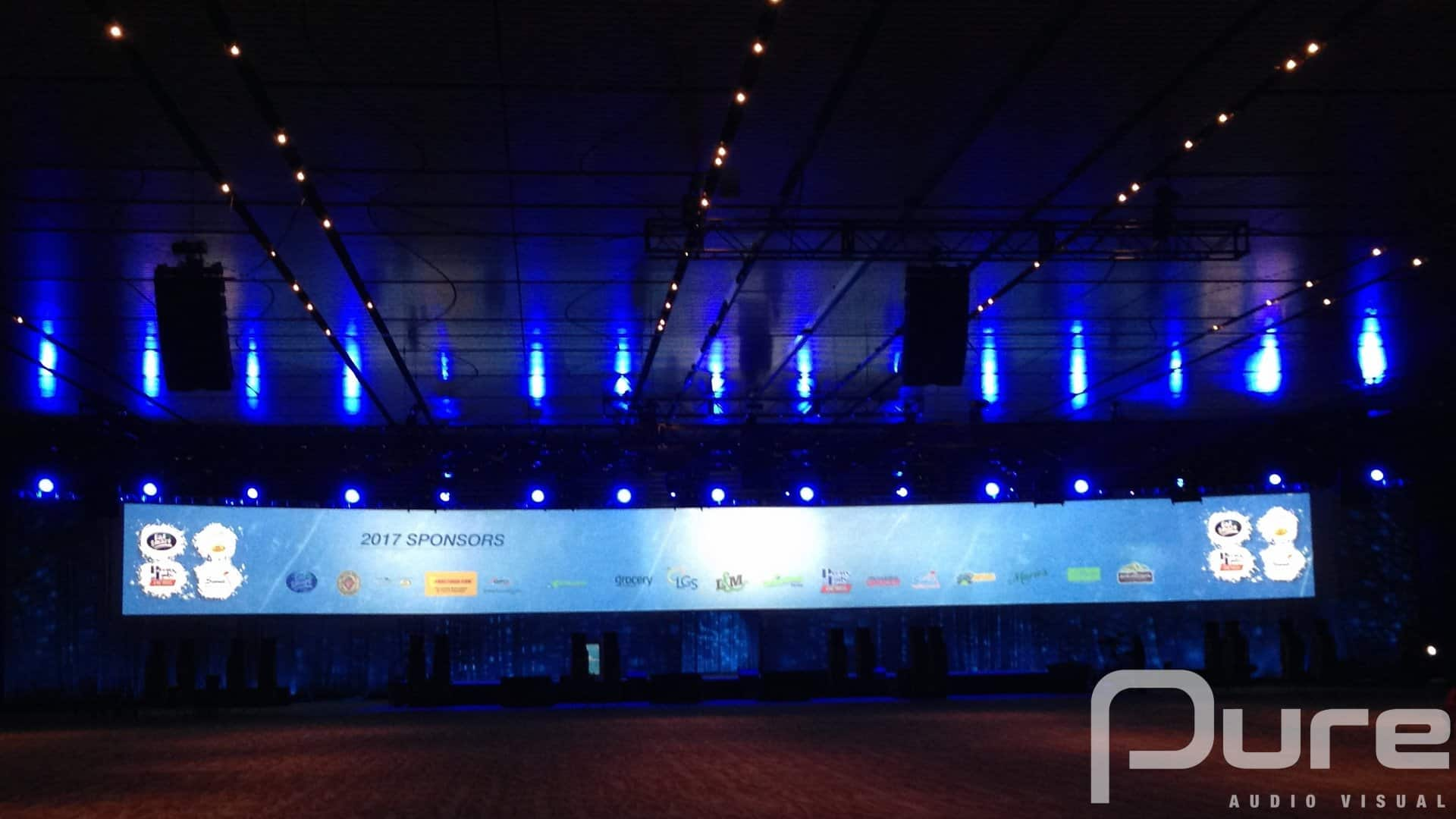 projection mapping large screen rental