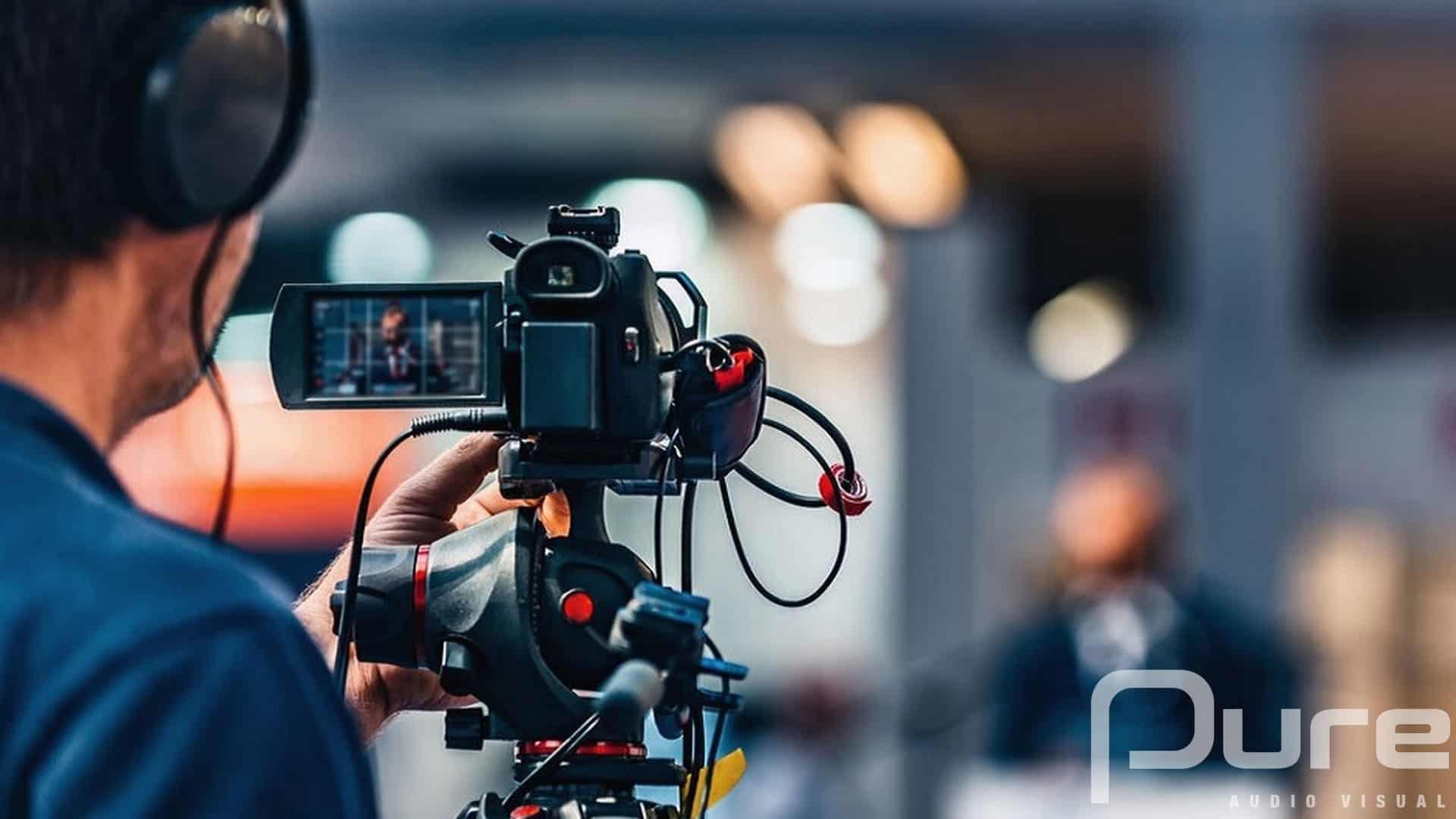 Camera. Video Studio.