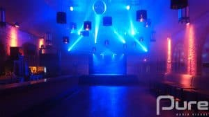 event venue lighting install