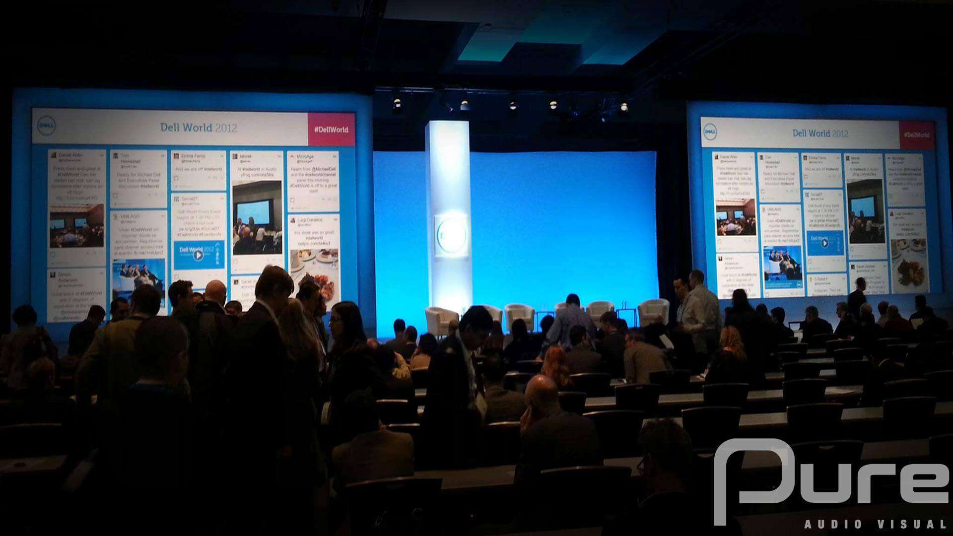 Conference audio visual lighting company