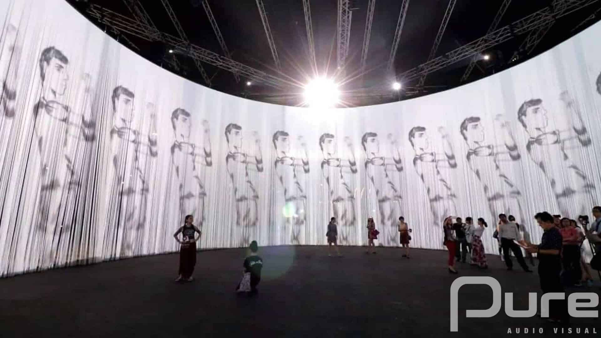 projection mapping company
