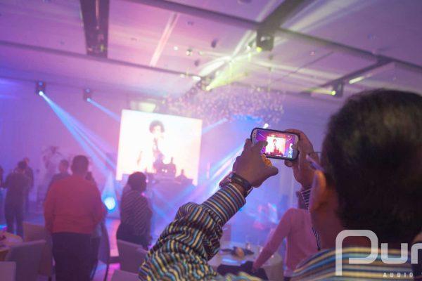 Fundraiser audio visual services